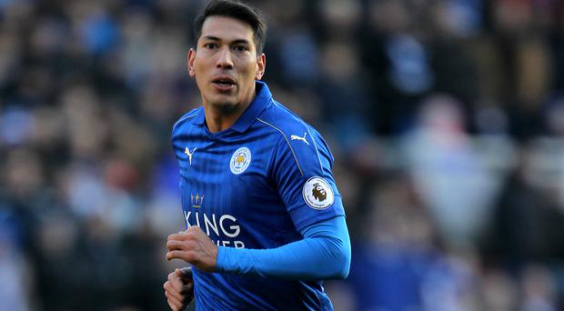 Leonardo Ulloa has made just one Premier League start for Leicester this season