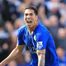 Leonardo Ulloa is wanted by Alaves after a difficult time at Leicester this season.