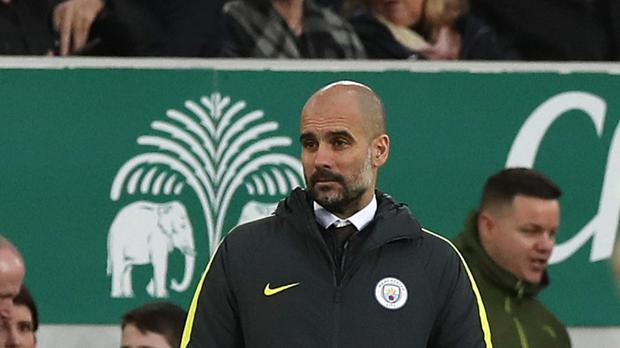 Pep Guardiola would like Manchester City to have a second team in the Championship