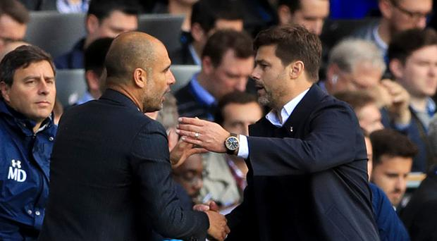 Mauricio Pochettino and Pep Guardiola