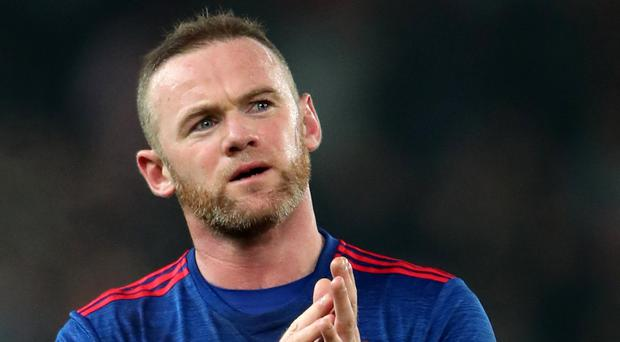 Manchester United's Wayne Rooney became the club's outright record scorer