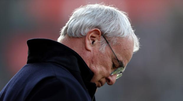 Leicester City boss Claudio Ranieri says it was his fault for his side's defeat at Southampton