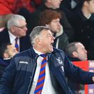 Crystal Palace manager Sam Allardyce has been frustrated in the January transfer window