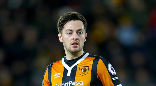 Hull midfielder Ryan Mason suffered a fractured skull during the first half at Stamford Bridge