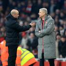 Arsenal boss Arsene Wenger alleged used abusive or insulting language when talking to fourth official Anthony Taylor in Sunday's win over Burnley.
