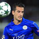 Luis Hernandez made just four Premier League appearances for Leicester after signing in the summer