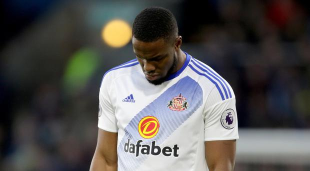 Sunderland striker Victor Anichebe was reduced to tears by his injury