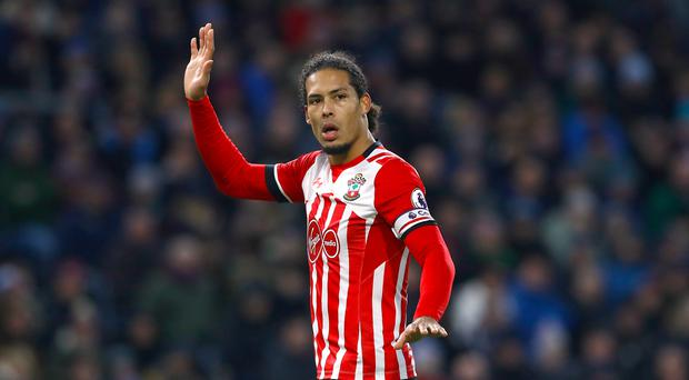 Virgil van Dijk has a serious ankle injury