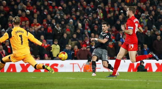 Shane Long's strike saw off secured Southampton's Wembley place