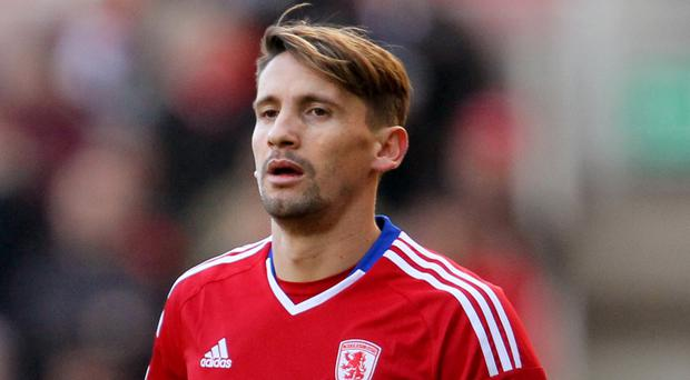 Middlesbrough midfielder Gaston Ramirez has handed in a transfer request with Leicester on his trail