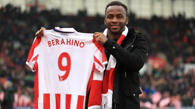 Saido Berahino joined Stoke last week for an initial fee of £12million