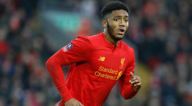 Joe Gomez has recently returned from injury for Liverpool