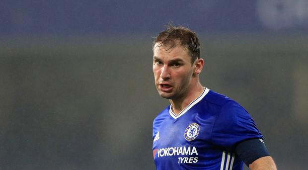 Chelsea head coach Antonio Conte is uncertain over the future of Branislav Ivanovic, pictured