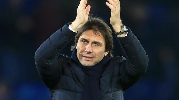 Antonio Conte is focused on Tuesday's trip to Liverpool in a potentially pivotal week in the Premier League title race