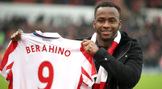Saido Berahino is set to make his Stoke debut this week