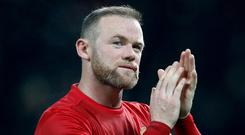Wayne Rooney is going nowhere, according to his manager