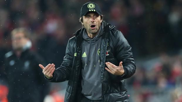Chelsea manager Antonio Conte saw his team pick up a valuable point at Anfield