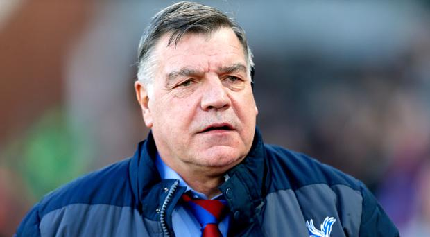 Sam Allardyce was delighted to secure his first league win as Crystal Palace manager. Photo: PA