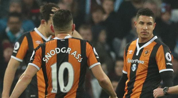 Jake Livermore, right, and Robert Snodgrass represent key departures from Hull