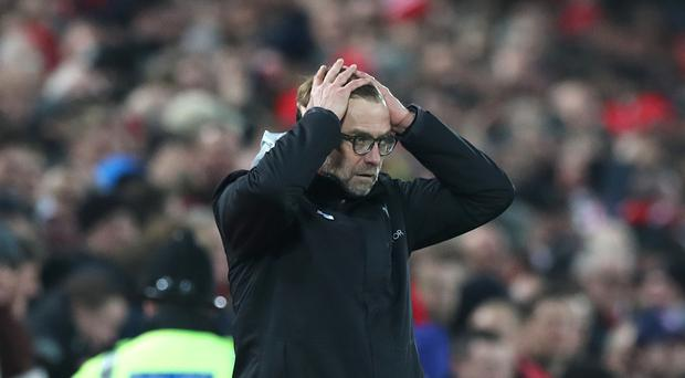 Liverpool manager Jurgen Klopp admits he may have had a lucky escape in his latest run-in with a fourth official.