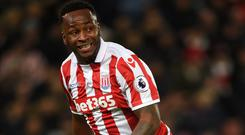 Saido Berahino joined Stoke from West Brom last month