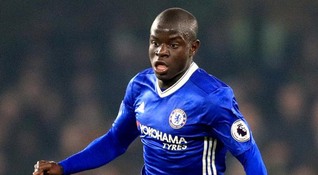 Arsenal boss Arsene Wenger has been aware of Chelsea's N'Golo Kante, pictured, for years