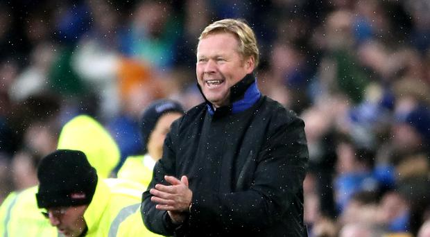 Everton manager Ronald Koeman expects improvements from his squad in the final four months of the season