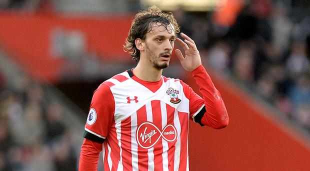 Manolo Gabbiadini opened the scoring for Southampton but it was not enough to stave off defeat