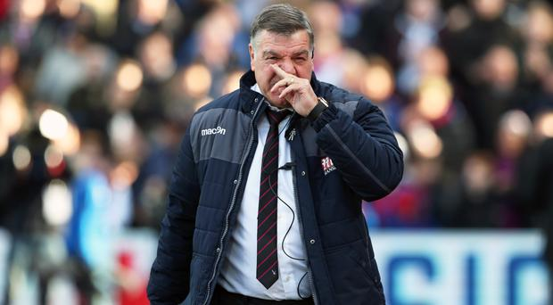 Crystal Palace manager Sam Allardyce apologised for his team's display against Sunderland