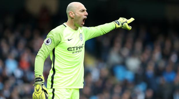 Willy Caballero has taken the gloves in recent weeks