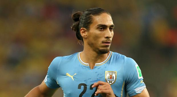 Martin Caceres is close to joining Southampton