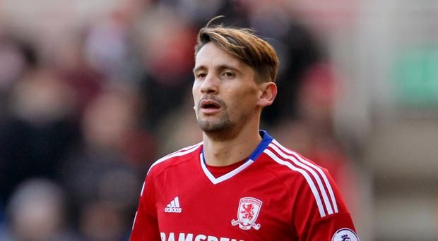 Gaston Ramirez has travelled to Spain with the Middlesbrough squad for a warm-weather training camp