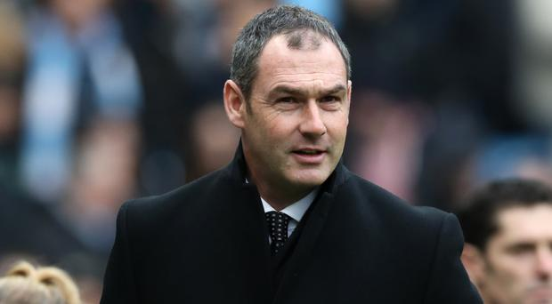 Swansea boss Paul Clement, pictured, feels Claudio Ranieri deserves more time