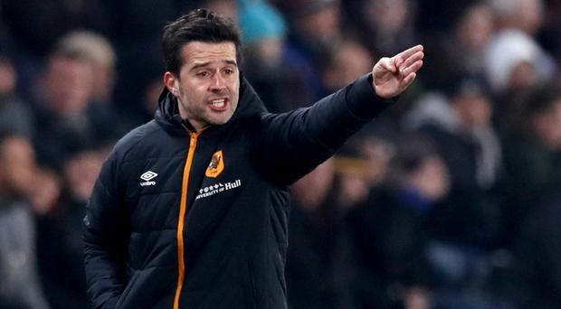 Marco Silva guided Olympiacos to victory at Arsenal last season