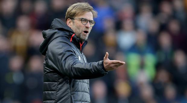 Liverpool manager Jurgen Klopp still has lofty ambitions for the remainder of the season