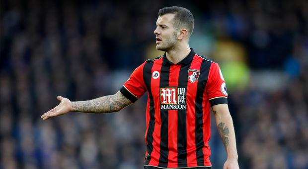 Bournemouth boss Eddie Howe would love Jack Wilshere, pictured, to sign a permanent deal