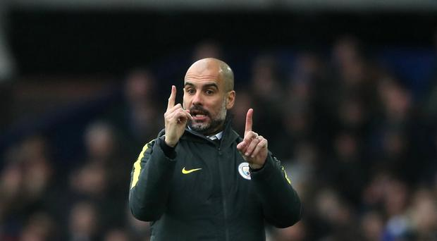 Pep Guardiola has been pleased with Manchester City's recent improvement in form