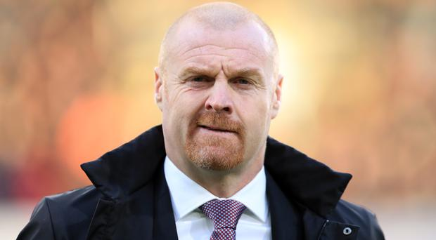 Sean Dyche insists his side are capable of bringing down Chelsea on Sunday