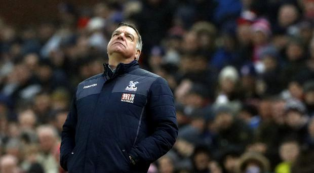 Crystal Palace have suffered six defeats in eight Premier League games under Sam Allardyce