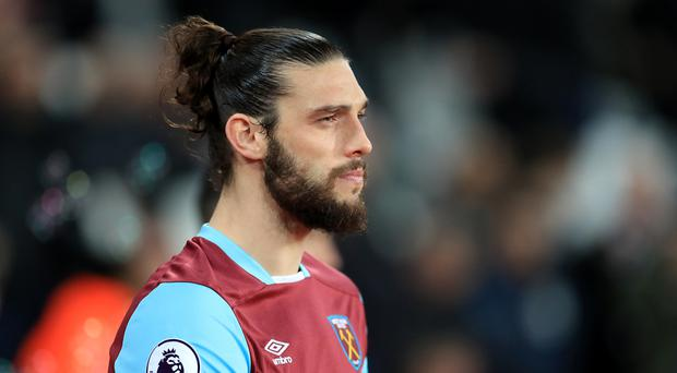 West Ham striker Andy Carroll has scored four goals in his past four games