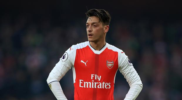 Mesut Ozil has not scored for Arsenal since December 10