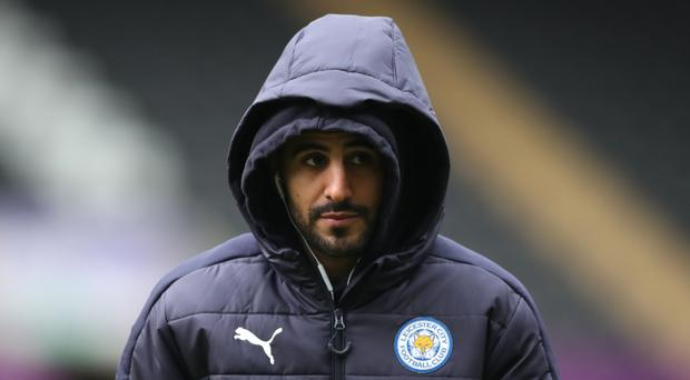 The form of Riyad Mahrez is a major symptom of Leicester's demise