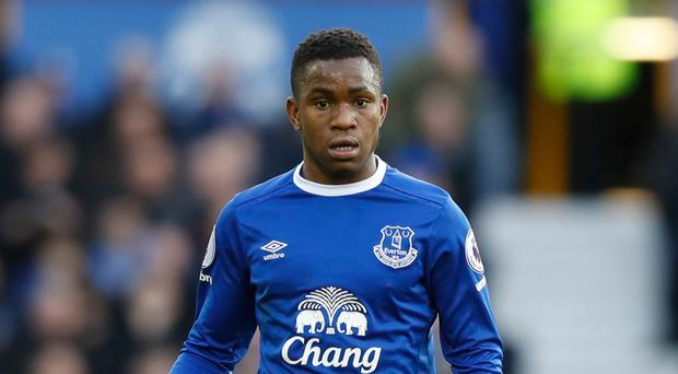 Ademola Lookman's, pictured, performances for Everton are an example to the club's youngsters, according to manager Ronald Koeman.