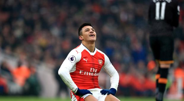 Alexis Sanchez has yet to sign new Arsenal deal