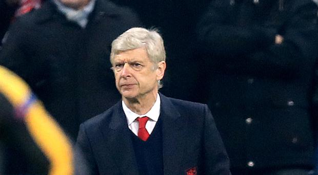 Arsene Wenger saw his Arsenal side thrashed 5-1 at Bayern Munich on Wednesday