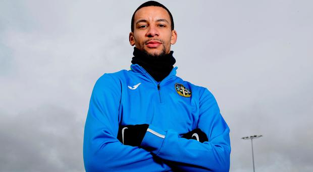 Sutton United's Craig Eastmond is relishing the chance to run out against Arsenal in the FA Cup Photo: PA