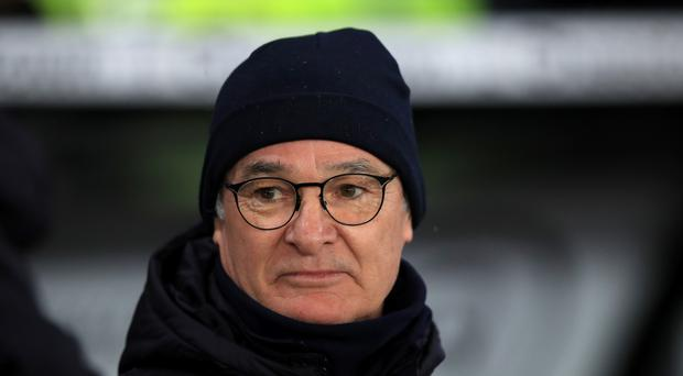 Leicester manager Claudio Ranieri. Photo: PA