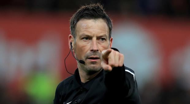 Mark Clattenburg will remain available to referee in the Premier League until the end of the season
