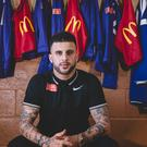 Tottenham defender Kyle Walker is helping launch the 2017 McDonald's Community Awards