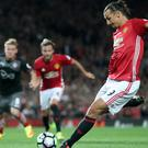 Manchester United have not had a penalty in 23 games since Zlatan Ibrahimovic scored against Southampton in August